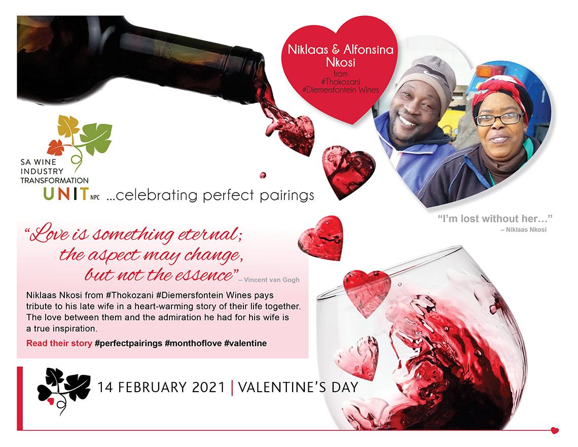 Month of Love – Meet Niklaas and Alfonsina Nkosi